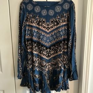 Open Back Free People Tunic